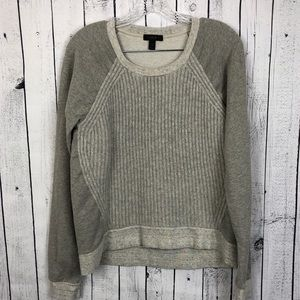 🆕 J. Crew • Wool Ribbed Contrast Sweater